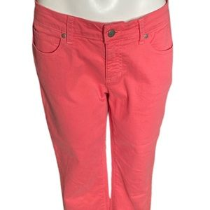 Eileen Fisher Peony Colored  Mid-rise Jeans